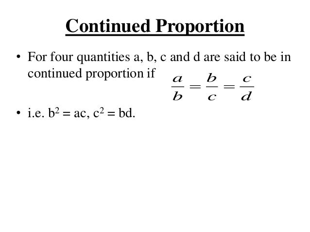 Unit 3 Ratio Proportion Profit And Loss