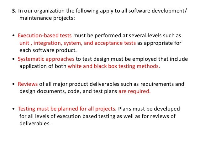 Unit 4 Software Testing