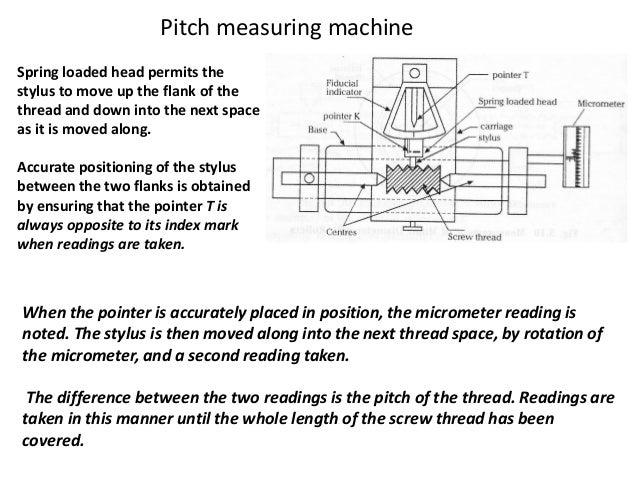 NPTEL Mechanical Engineering - Metrology