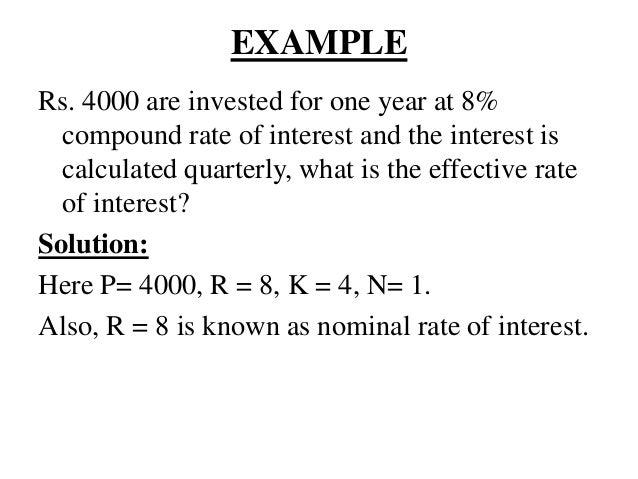 unit 4 simple and compound interest