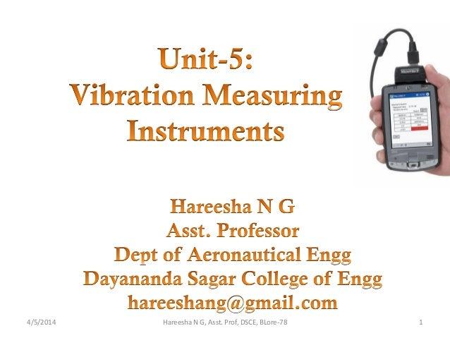 4/5/2014 1Hareesha N G, Asst. Prof, DSCE, BLore-78