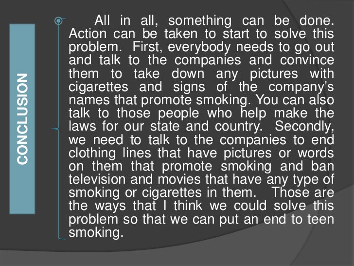 solution to stop smoking essay Introduction the smoking problem has become quite prevalent in our society several governments have had problems dealing with a huge health care burden due to.