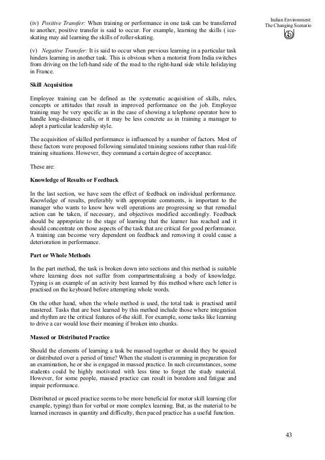 Unit 6 of Organizational Behavior.