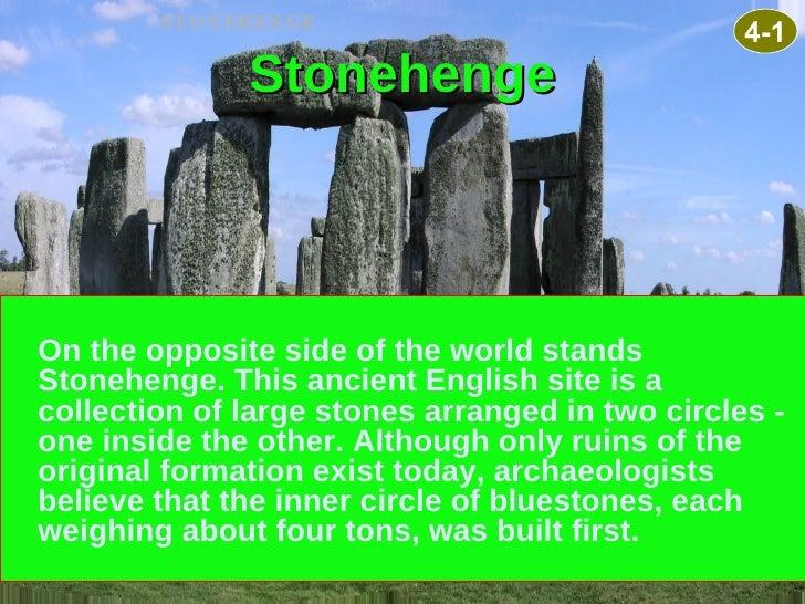 Mystery still cloaks the island of stonehenge