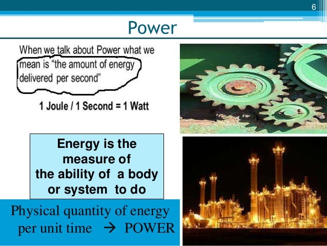 INTRODUCTION TO POWER PLANTS & DIRECT ENERGY CONVERSION