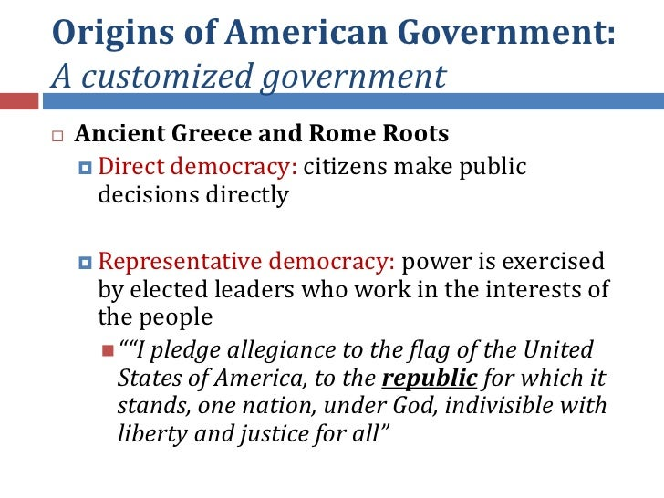 Unit I - Origins Of Government