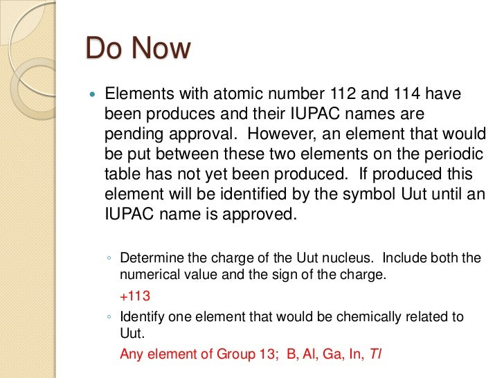 Unit the periodic table2 43 using the periodic table urtaz Image collections