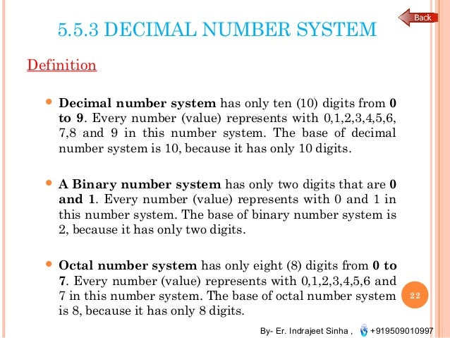 computer number system Binary system: history of may appear in a binary representation of any number the binary system is of great help in the the first electronic computer.