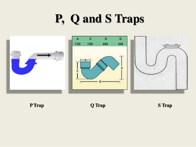 House drainage system p q and s traps q trap s trapp trap ccuart Image collections