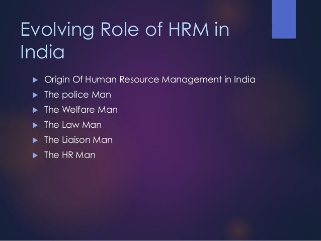 the impact of hrm polices on The impact of strategic human resource management on organizational performance luftim cania1 the studies emphasize the impact of hrm on organizational performance basically matching hrm activities and policies to some explicit business strategy.