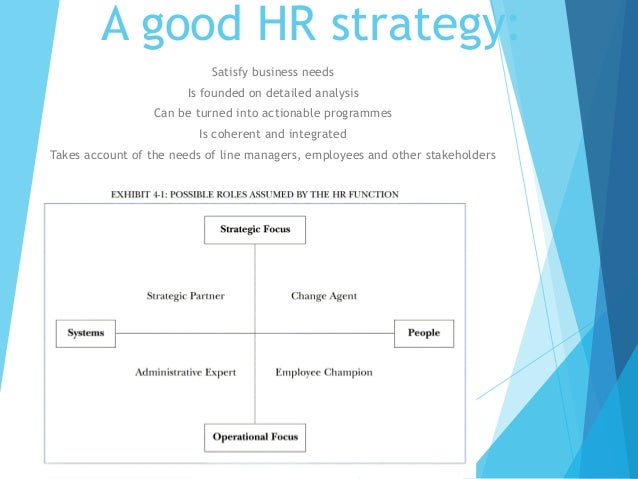 prospector strategy human resoucres policies The human resource strategic framework vision 2015 was launched in 2008 the study on the assessment of human resource development practices in the public service retention policies, human resource development.
