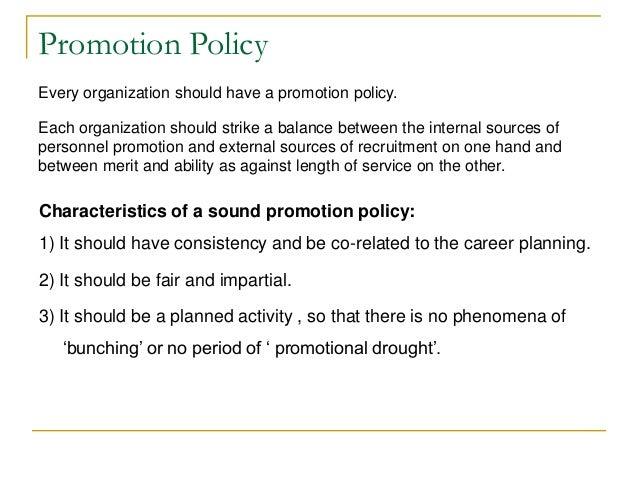 Basis of promotion merit vs seniority | sound promotion policy.