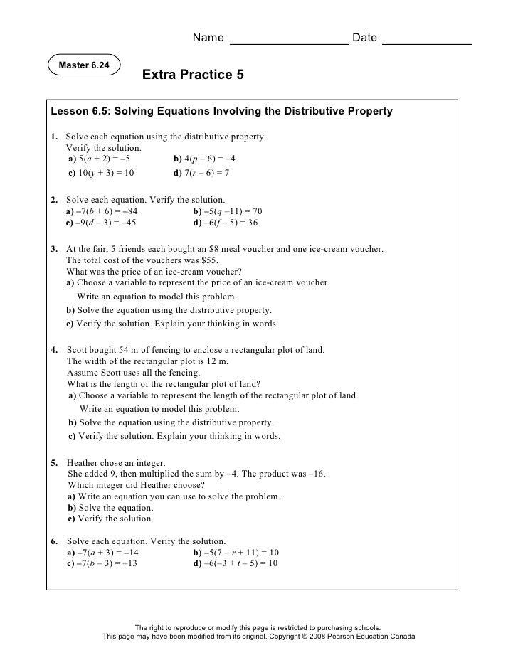 solving linear equations worksheet algebra 2