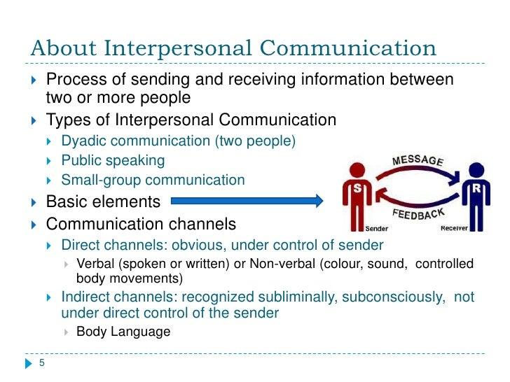 Interpersonal communication assignment 5