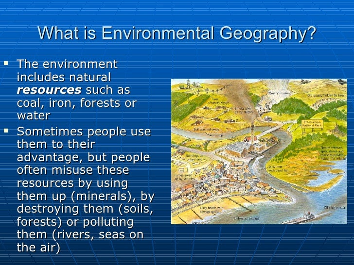 what does physical human and environmental geography mean