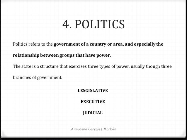 elements of politics and government Section 1 the theory of politics, as here expounded, is concerned with human  societies, regarded as possessing government section 2 its.