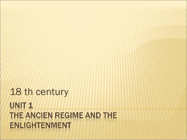 18 th century