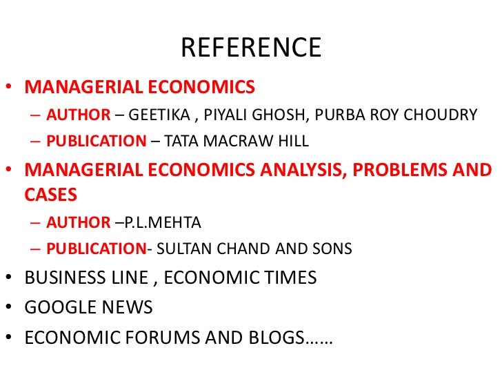 Managerial Economics Geetika Pdf