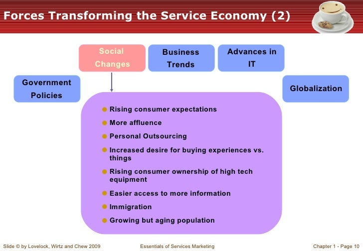 forces transforming the service economy Workforce of the future: the competing forces shaping 2030 2  marketplace, it can grow to take over the entire economic system and with platform pervasiveness comes.