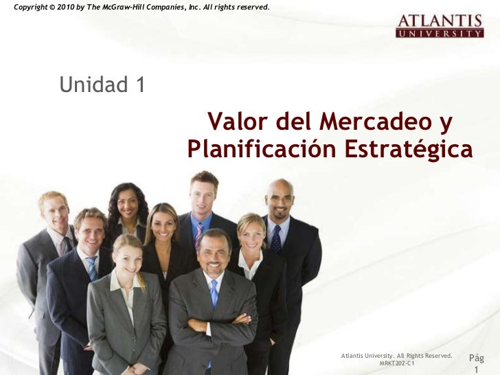 Copyright © 2010 by The McGraw-Hill Companies, Inc. All rights reserved.            Unidad 1                              ...
