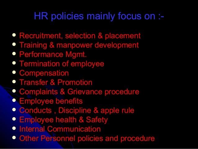 apple hr policies