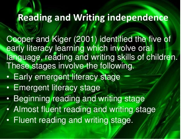 Constructing meaning through reading and writing