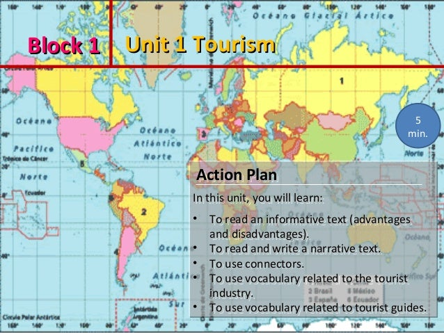 Block 1Block 1 Unit 1 TourismUnit 1 Tourism Action PlanAction Plan In this unit, you will learn:In this unit, you will lea...