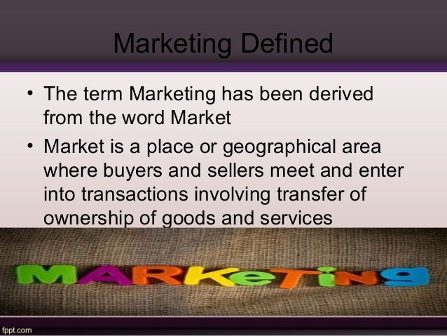 nature and scope of marketing wiki