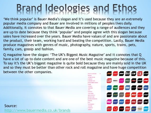 Bauer Media are in synergy with broadcast and social media websites; such as Facebook, Twitter and YouTube etc. They use F...