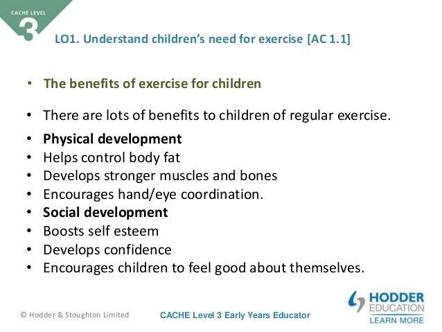 Childcare Cache Level 3 Unit 1