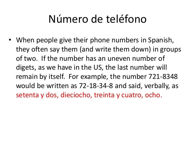 how to say phone in spanish
