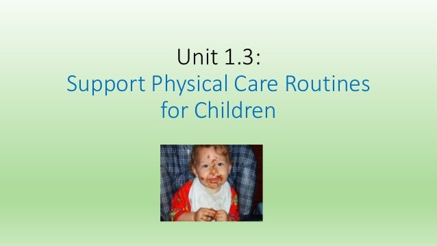 unit 3 supporting children and young Unit pack biiab level 3 diploma for the children and young people's workforce (england) (qcf)  3 be able to support children and young people to take part in.