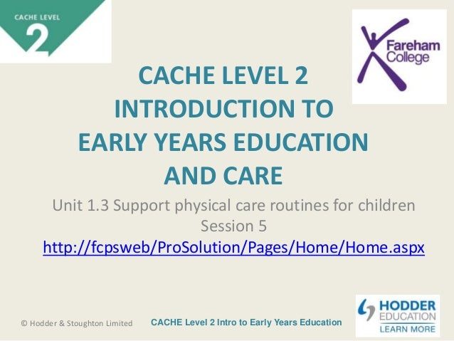 cache level 3 diploma unit 2 To gain the full cache level 3 award in health and social care vrq you will need to submit and pass all of the tutor marked assignments there are 6 assignments in .