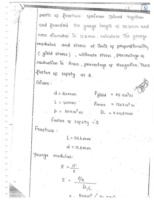 ME6503 - DESIGN OF MACHINE ELEMENTS UNIT - I  NOTES Slide 3