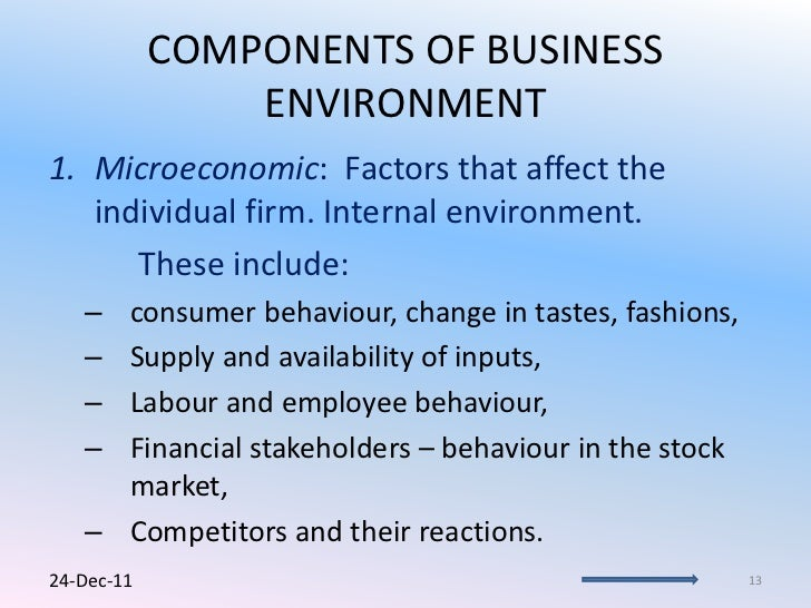 Environmental factors affect the definition of the research problem and what are these factors