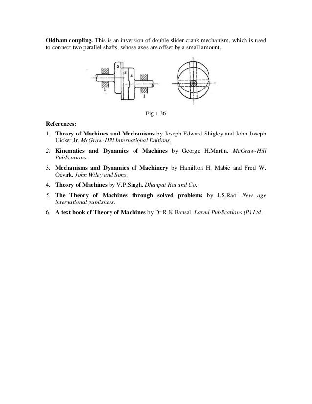 kinematics and dynamics of machines george h martin pdf