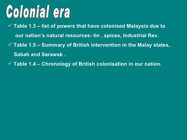 effects of british colonisation in malaysia Major effects of japanese occupation in malaya history essay student id : 033130027 major effects of japanese occupation in malaya  what will happen, in fact been replaced by the british colonial rule japanese occupation of the brutal japanese occupation of the british rule.