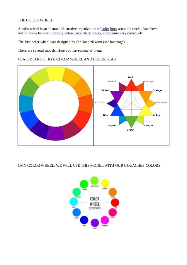 7 THE COLOR WHEEL
