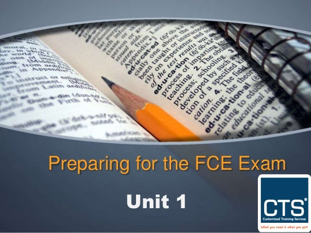 Preparing for the FCE Exam Unit 1