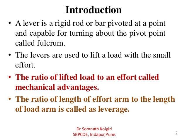 Unit1 designof levers Slide 2
