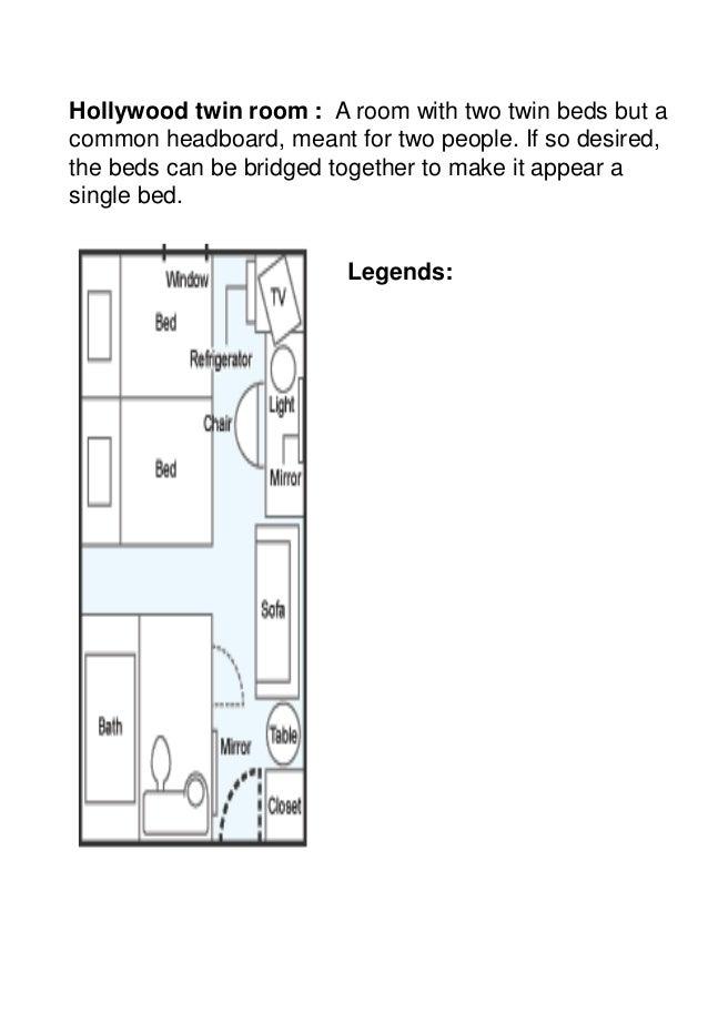 ... 8. Hollywood twin room ...