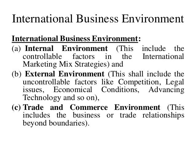 Business Environment Pdf Notes