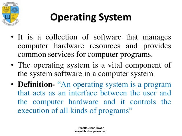 intro to operating system Buy linux for beginners: an introduction to the linux operating system and command line: read 140 books reviews - amazoncom.