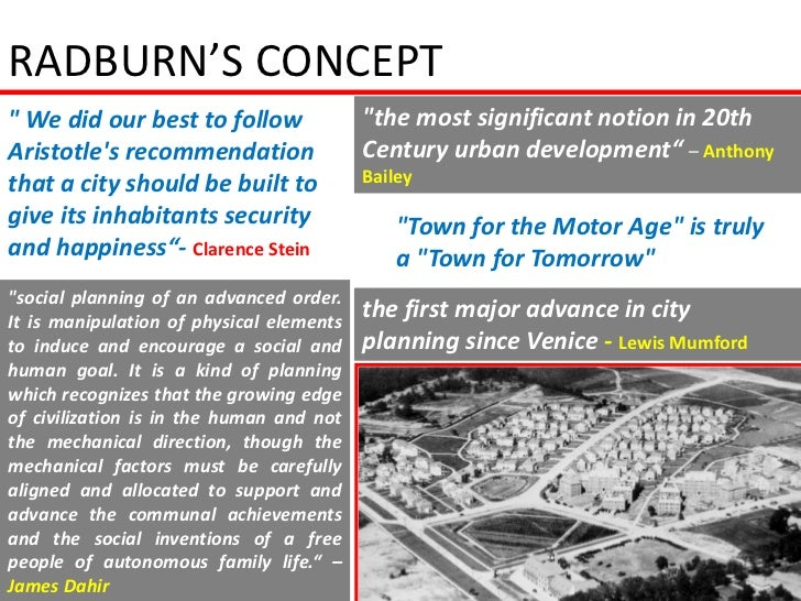 """RADBURN'S CONCEPT"""" We did our best to follow               """"the most significant notion in 20thAristotles recommendation  ..."""