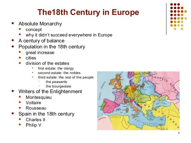 the 18th century european enlightenment Enlightenment and catholicism in europe: a transnational  the transnational approach helps to set 18th-century catholicism and the  the european enlightenment.