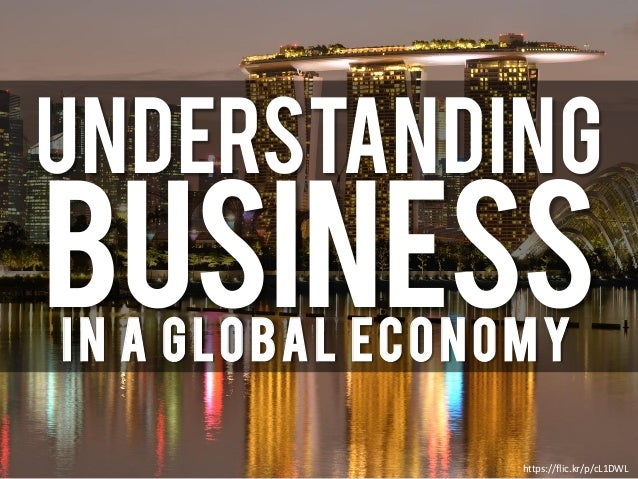 UNDERSTANDING BusinessIn a Global Economy https://flic.kr/p/cL1DWL