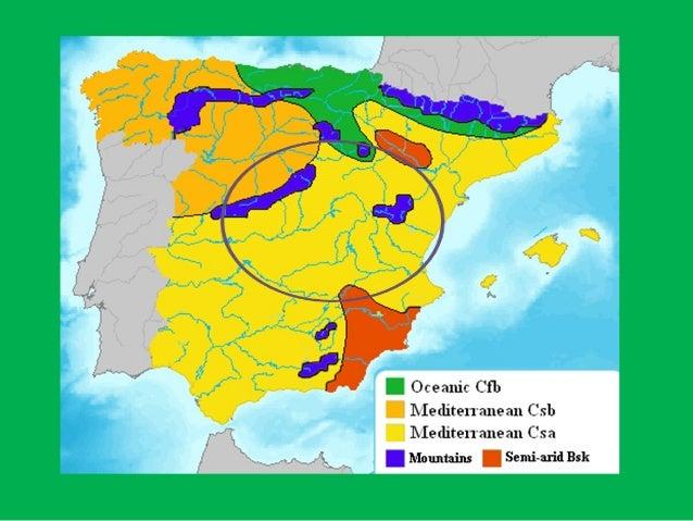 Unit 10: Spanish climates