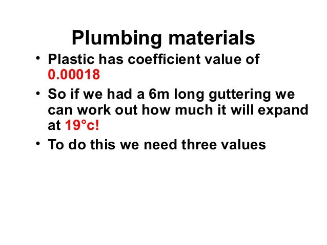 unit 103 powerpoint 2 plumbing science