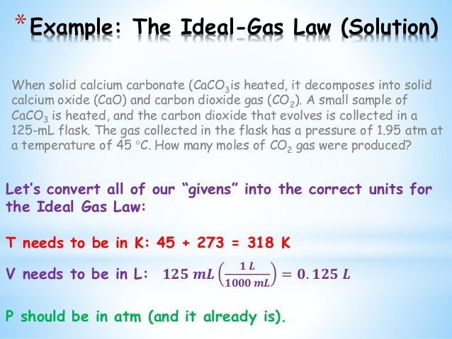 Unit 10 ideal gaslaw final