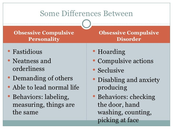 obsessive compulsive personality disorder quiz